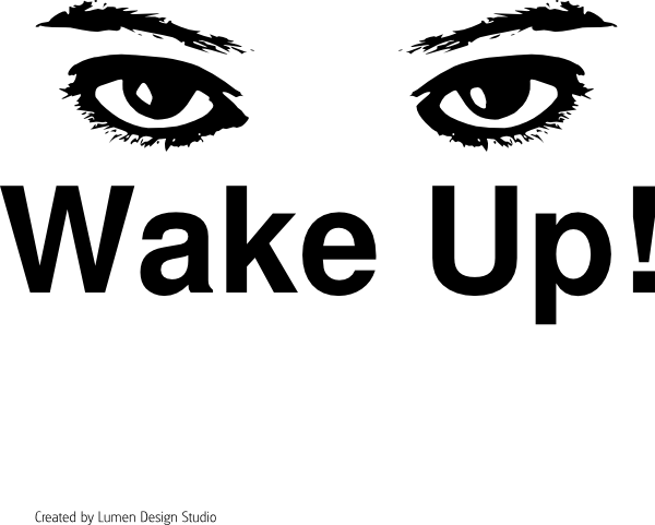 Image result for wake up art