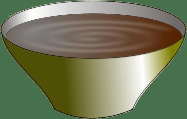 Bowl Of Pudding Clip Art at Clkercom  vector clip art