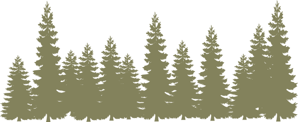 Light Green Forrest V2 Clip Art At Vector
