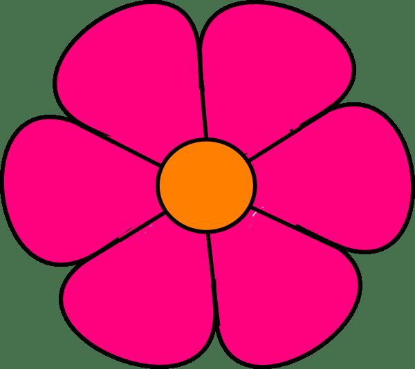pink flower 2 clip art