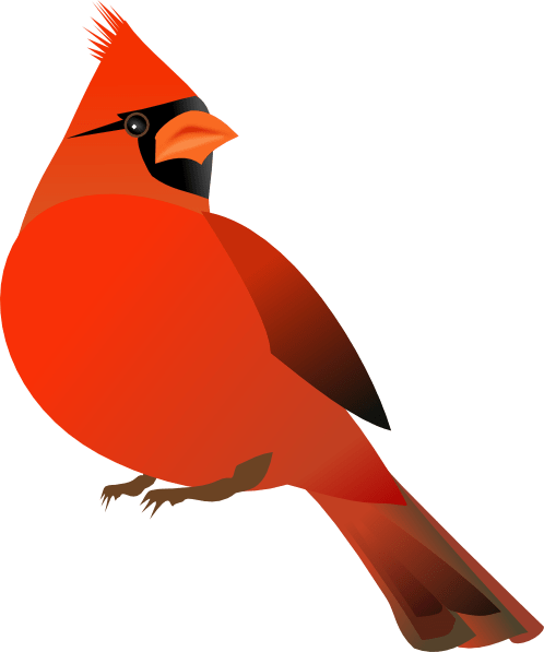 red cardinal clip art