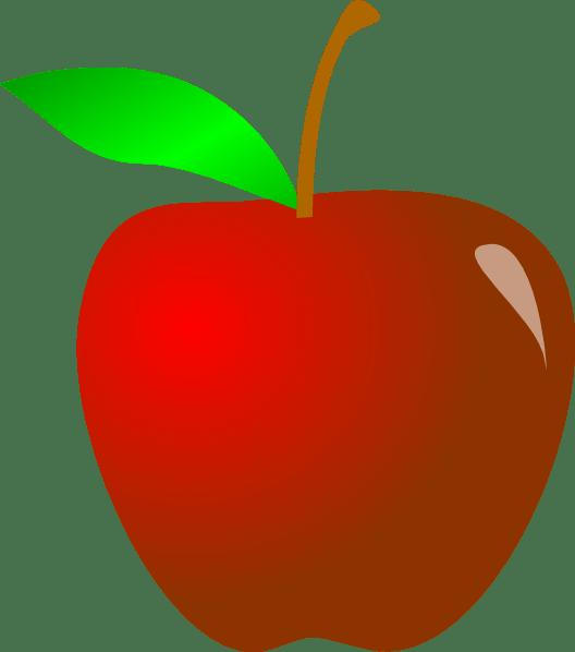 apple clip art - vector