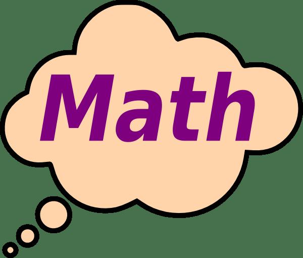 math clip art - vector