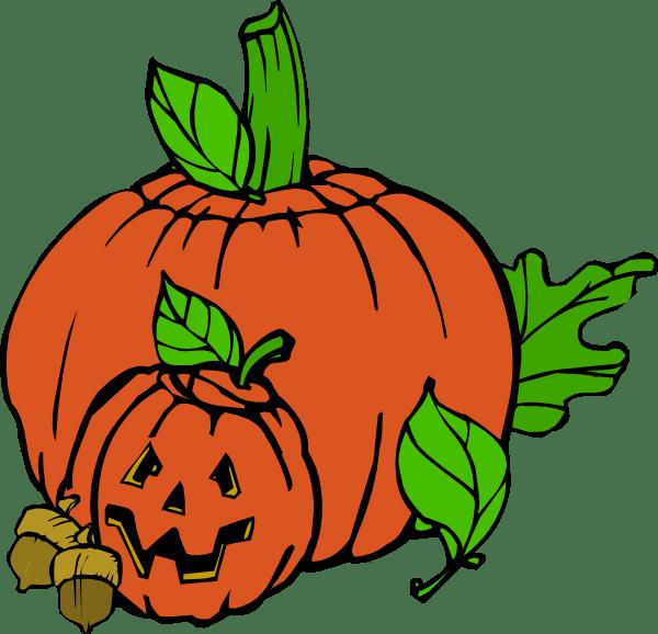 orange pumpkin clip art