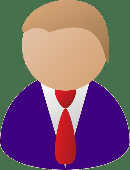 person icon purple clip art