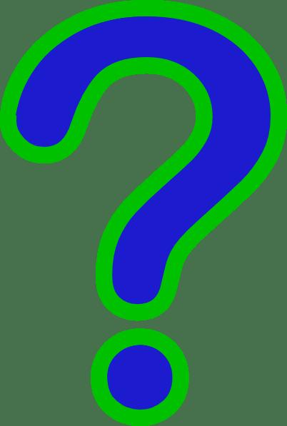 Question Mark Clip Art at Clkercom  vector clip art