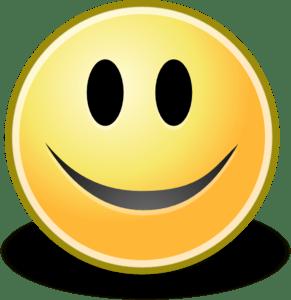Tango Face Smile Clip Art at Clkercom  vector clip art