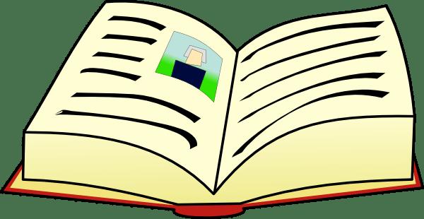 book clip art - vector
