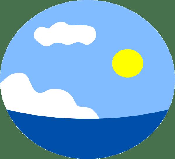 sea scene clip art