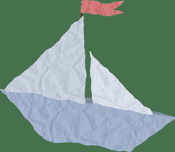Crumpled Paper Art Origami