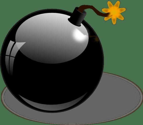 black bomb clip art