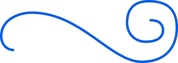 Blue Swirl Clip Art at Clkercom  vector clip art online royalty free  public domain