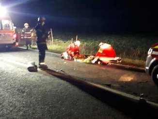 Accident grav între Perișoru și Ștefan cel Mare. FOTO ISU Călărași