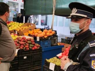 Control al polițiștilor de la IPJ Călărași în zonele publice din județ. FOTO IPJ Călărași