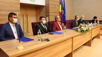Ședință a Consiliului Județean Călărași. FOTO Adrian Boioglu