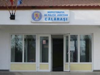 Sediul IPJ Călărași. FOTO Poliția Română
