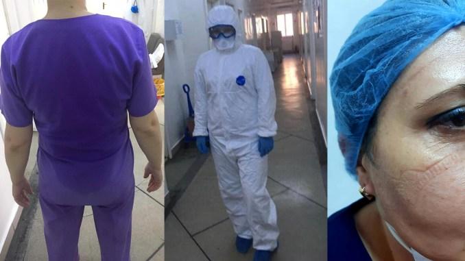 Cadre medicale de la Spitalul Județean Călărași. FOTO SCJUC