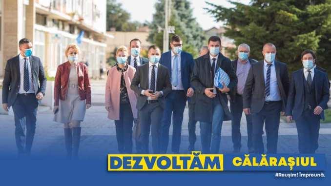 Echipa PNL Călărași pentru alegerile parlamentare din 2020. FOTO PNL Călărași