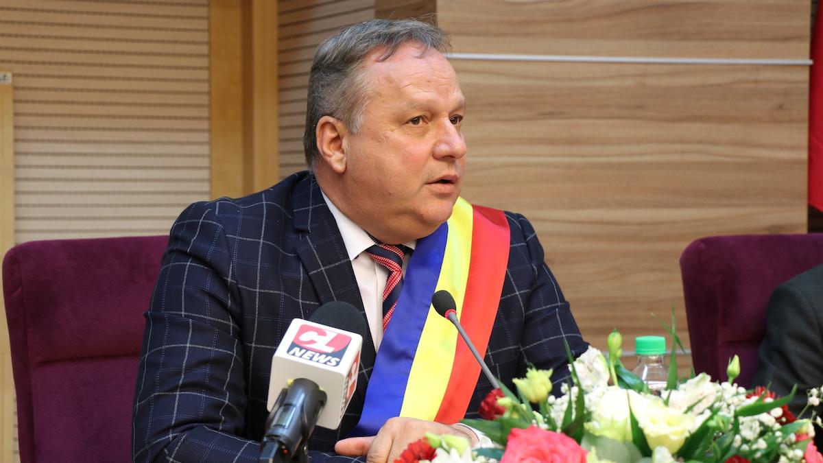 Vasile Iliuță, președintele Consiliului Județean Călărași. FOTO Adrian Boioglu