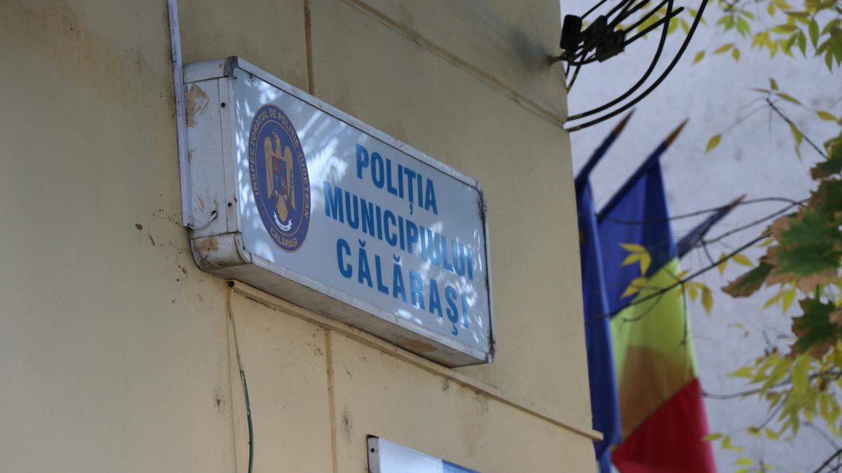 Poliția Municipiului Călărași. FOTO Adrian Boioglu