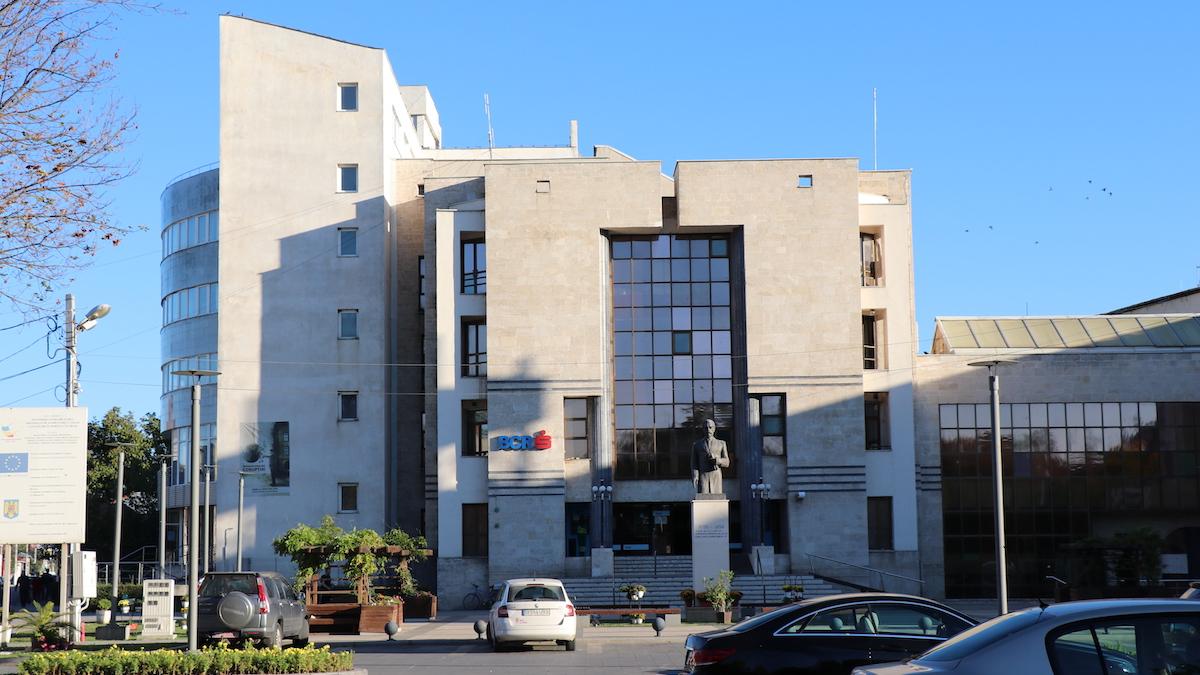 Sediul BCR Călărași. FOTO Adrian Boioglu