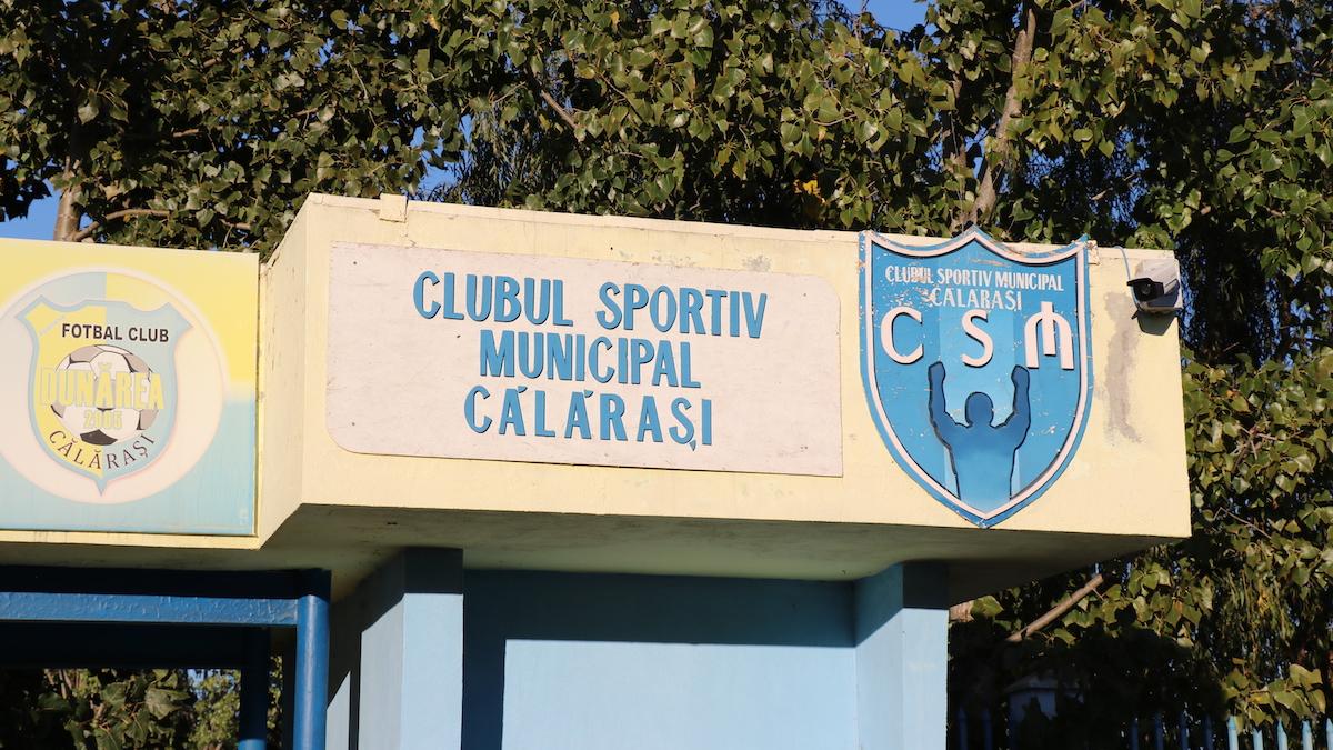 """Club Sportiv Municipal """"Dunărea"""" Călărași. FOTO Adrian Boioglu"""