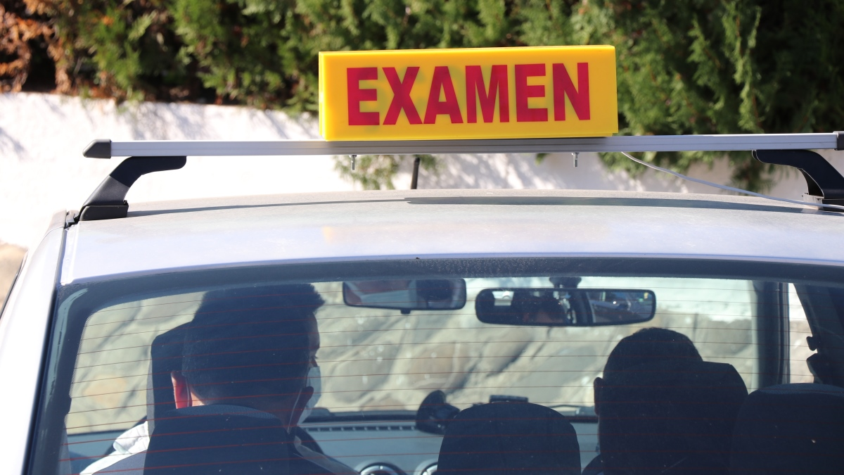 scoala de soferi examen