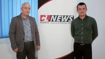 Primarul comunei Dragalina, Marian Gabriel Stanciu sși viceprimarul Cosmin Iordăchescu FOTO Paul Alexe