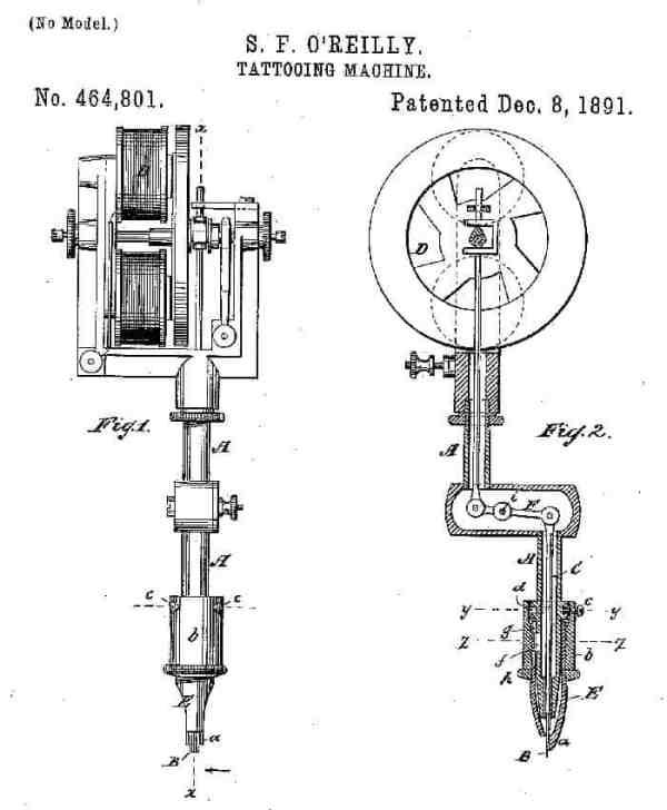 Samuel Riley Tattoo Machine