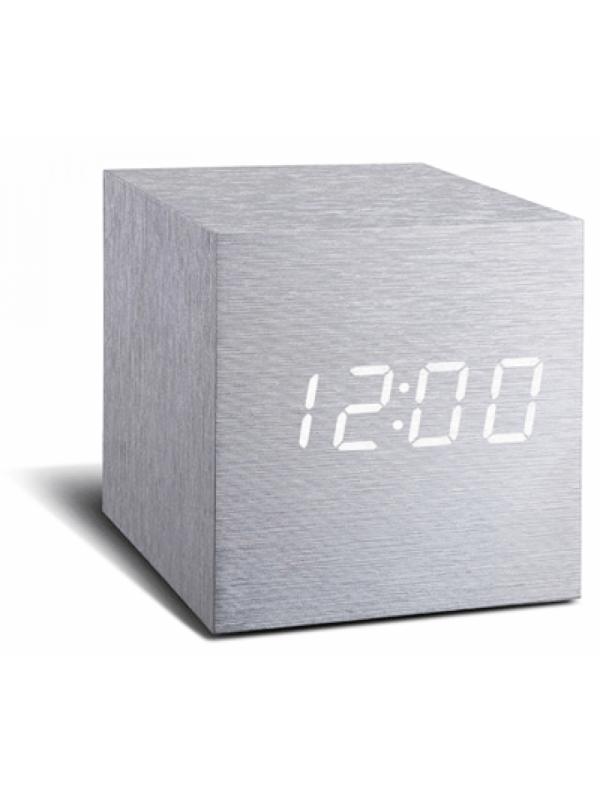 click-clock-cube-aluminium-met-witte-led