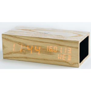 music-click-clock-met-oranje-led 1