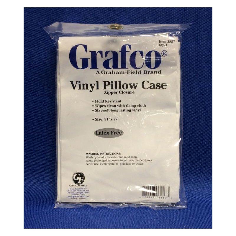 pillow case plastic cover w zipper ea