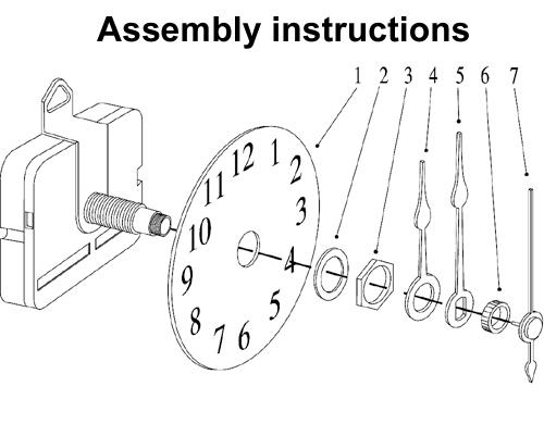 Grandfather Clocks Movements at 1-800-4Clocks.com