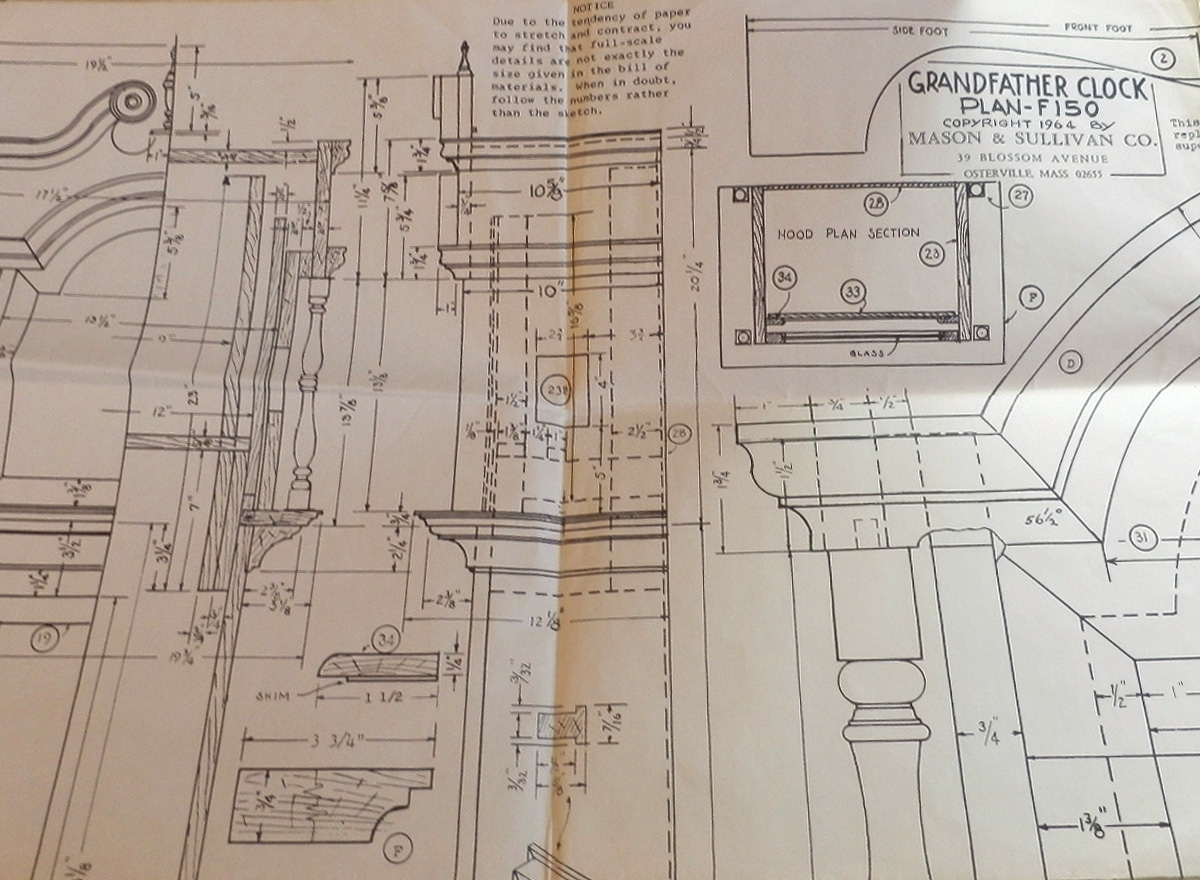 Free Grandfather Clock Plans