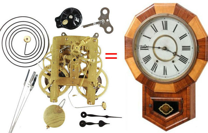 Mission Grandfather Clock Kit