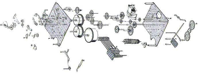 1050 / 1051 Series Hermle Clock Movements : Clockworks