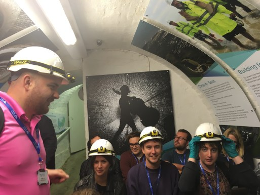 Award-Winning Digital Marketing Agency SiteVisibility at the Brighton Sewers tour