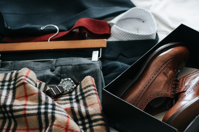 Smart-looking Men's clothing and shoes