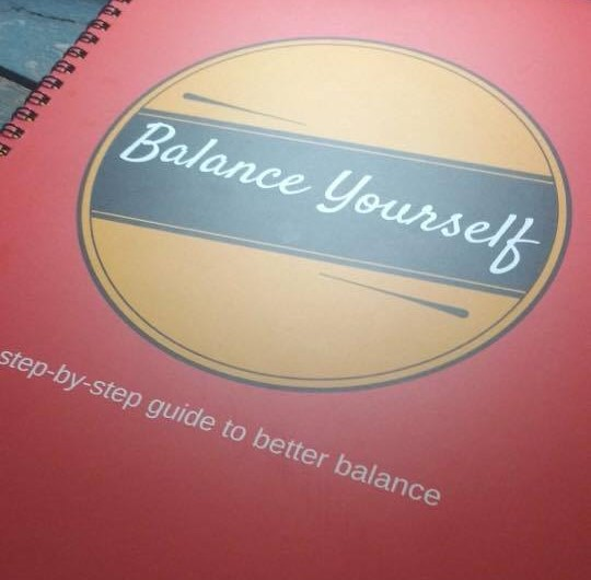 Balance Yourself book cover