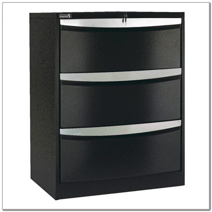 2 Drawer Lateral File Cabinet Black  Cabinet  Home