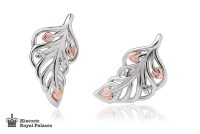 Debutante Feather Stud Earrings | Clogau Gold