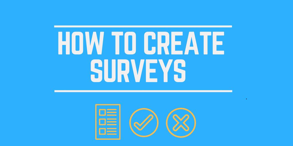 Cloneshouse Nigeria how to create surveys
