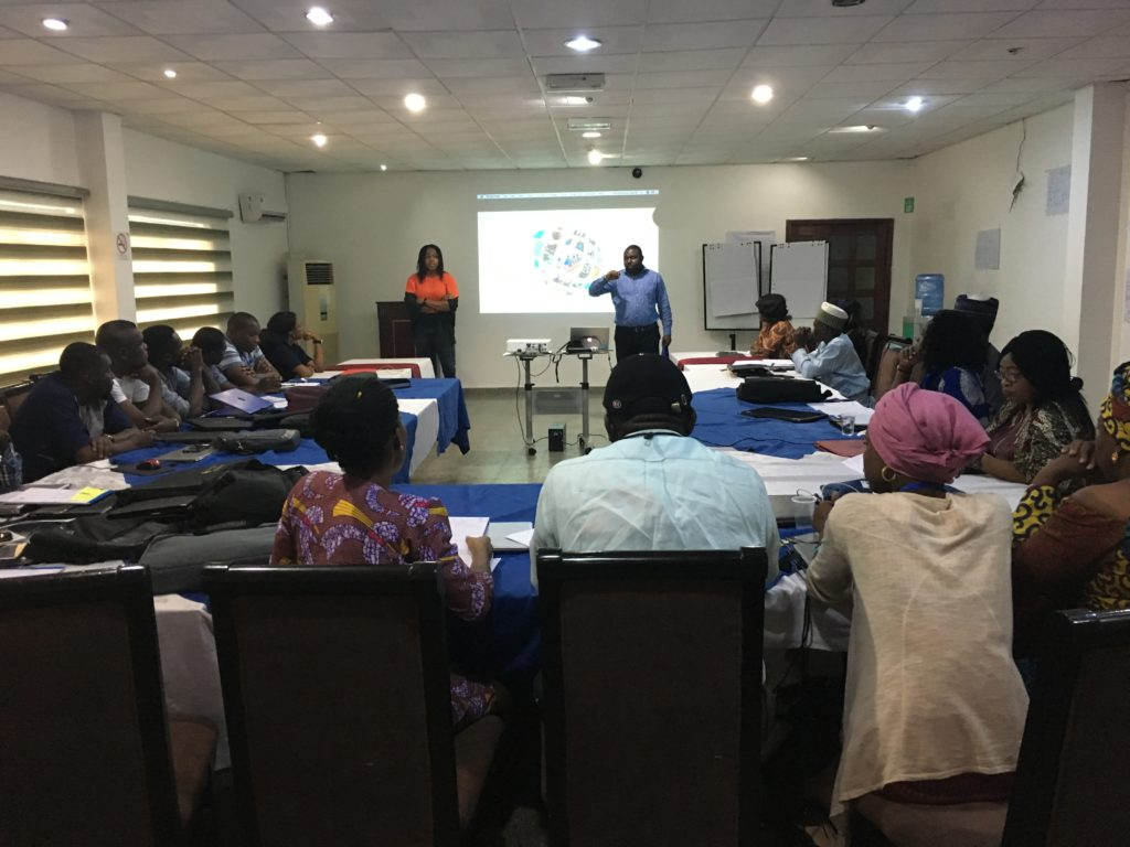 Monitoring and Evaluation Training at Cloneshouse Nigeria