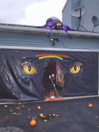 Clopay Door Blog | Decorate Your Garage For Halloween