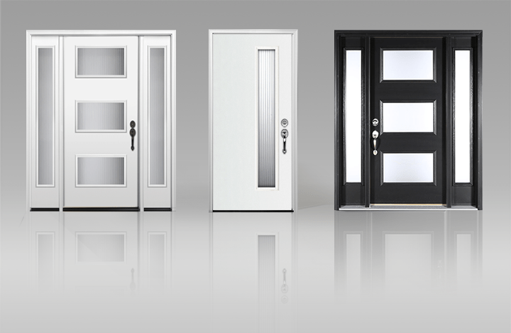 Clopay Adds Modern Style to Fiberglass and Steel Entry