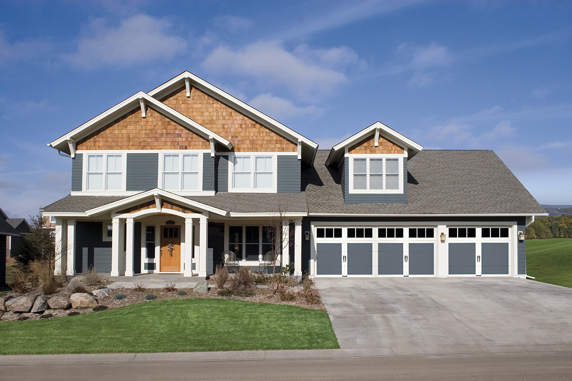 Craftsman Style Garage Doors Contemporary Classic Clopay