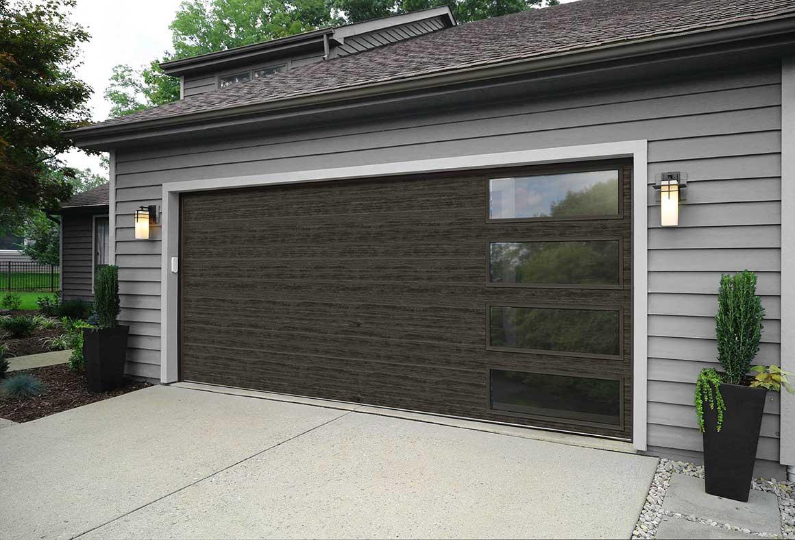 MODERN STEEL collection  Stapley Action Garage Door