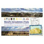 cartolina Mostra Massafra Gerusalemme d'Italia