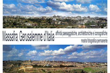 Copertina catalogo mostra Massafra Gerusalemme