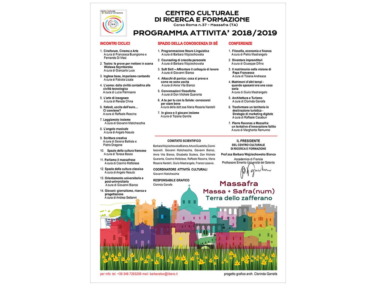 Manifesto Programma CCRF